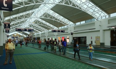 Portland International Airport in 2015. Recent research published by the Harry Bridges Center for Labor Studies comments on the economic effects of job outsourcing at the airport, called PDX for short.