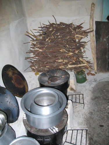 Photo of intervention cookstoves
