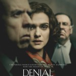 "Poster for the film ""Denial,"" which is about historian Deborah Lipstadt, who taught at the University of Washington in the 1970s."