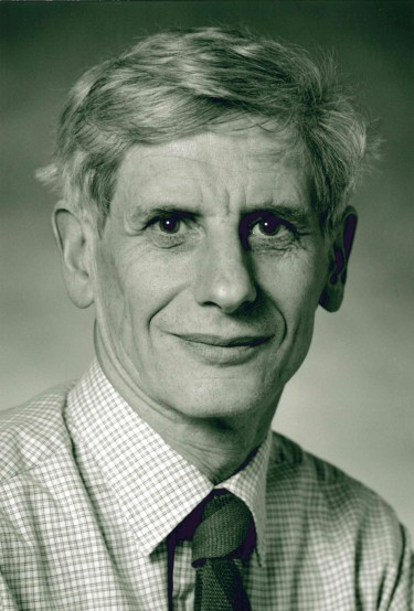 David Thouless on May 3, 1995, on his election to the U.S. National Academy of Sciences.