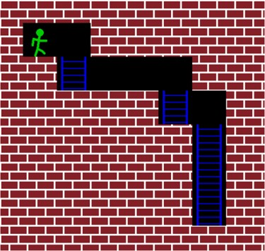 graphic of maze