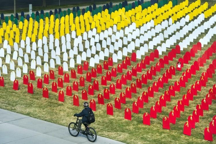 Photograph of 2016 memorial