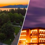 photos of UBC and UW