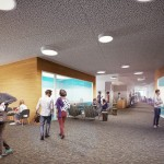 rendering of student commons