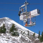 equipment on chairlift