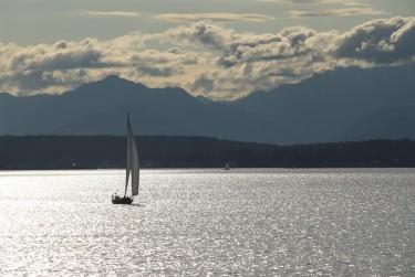 Puget Sound in Washington state.