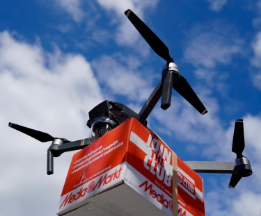 Photo of drone delivery