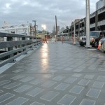 finished seawall