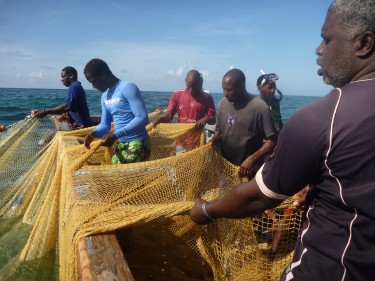 fishermen in barbados