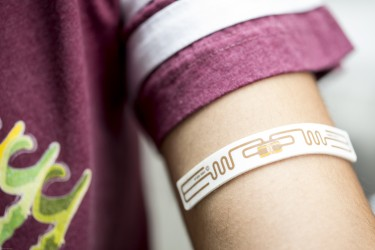 Photo of flexible epidermal patch