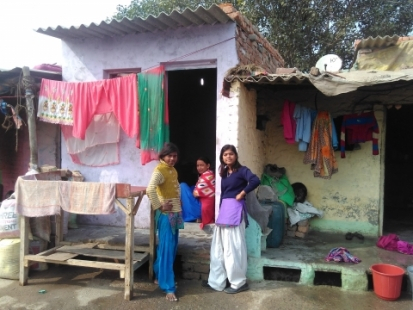 "A symposium will examine the lives of workers in India's ""informal economies."" Here, a woman known as Aunty Mummy is considered a go-to person in her village."