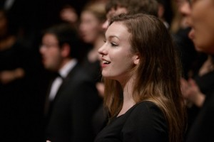 Chorale and Chamber Singers Performing