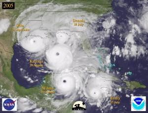 satellite image over Atlantic Ocean