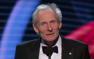 Kim Nasmyth, receiving the Breakthrough Prize in Life Sciences on Dec. 3.