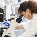 Student researchers at the Molecular and Cellular Biology Lab