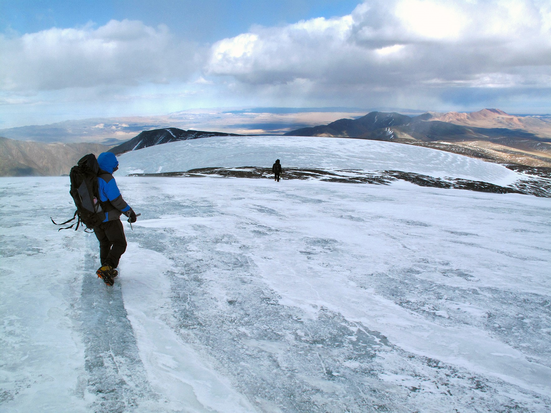 glaciers in mongolia s gobi desert actually shrank during the last
