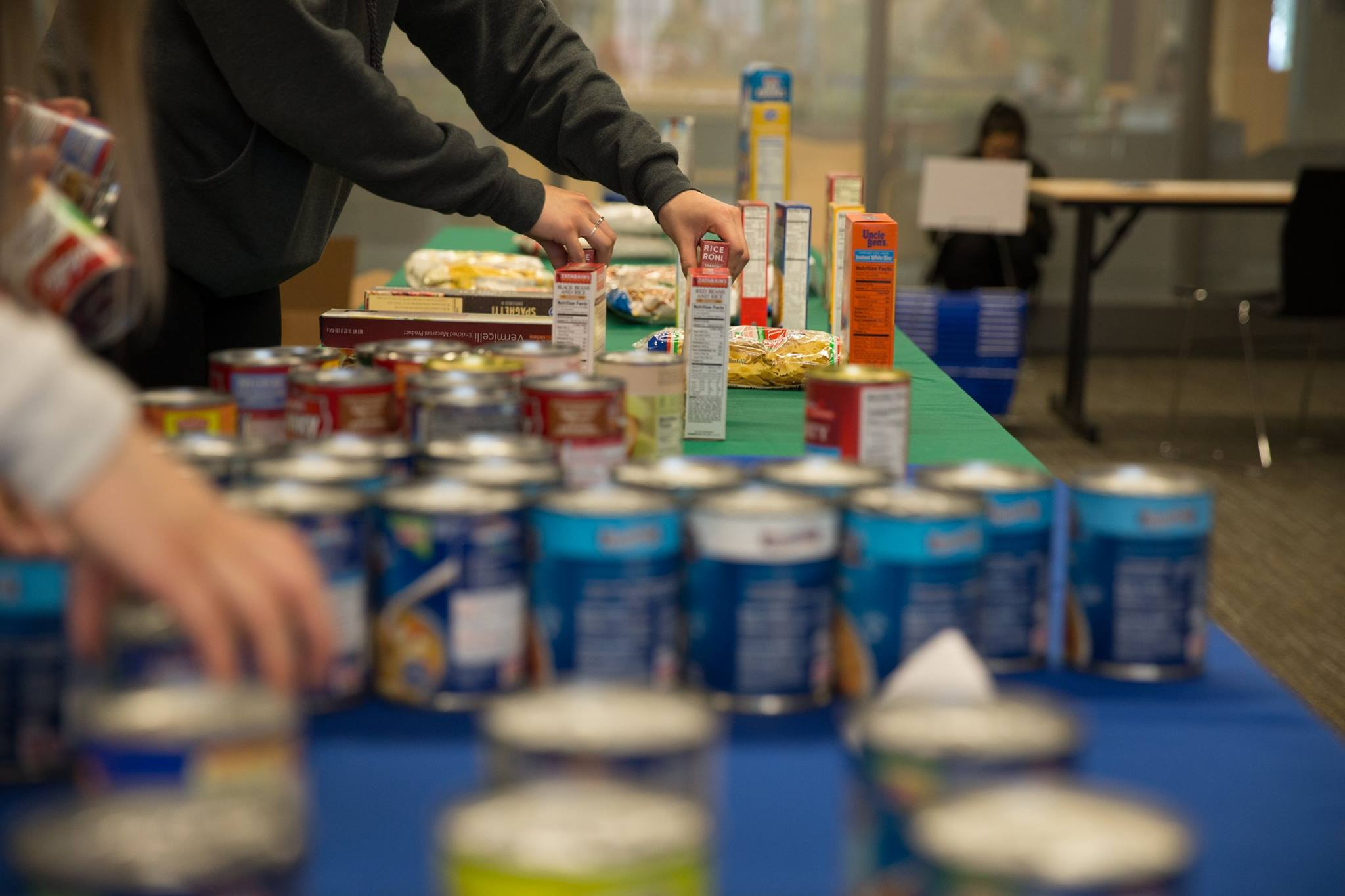 The UW Campus Food Pantry supplies free food to anyone with a Husky ID. It's open every other Wednesday during winter quarter.