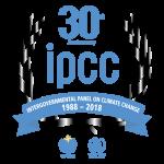IPCC 30th anniversary logo.