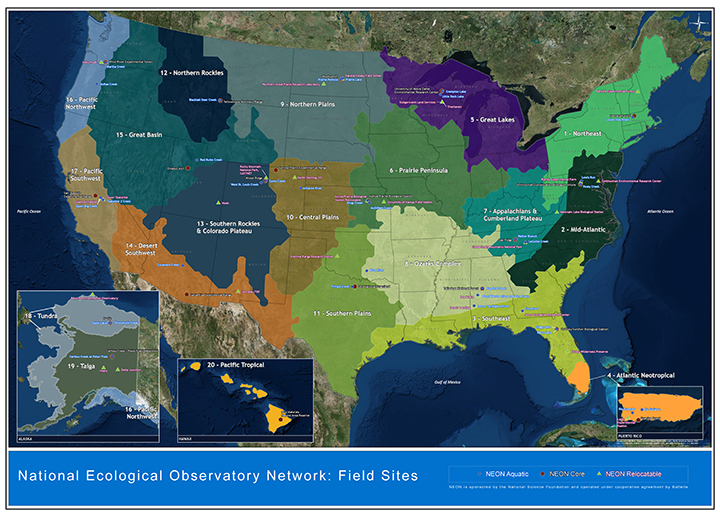 Forest Loss In One Part Of Us Can Harm Trees On The Opposite Coast - Us-forest-cover-map
