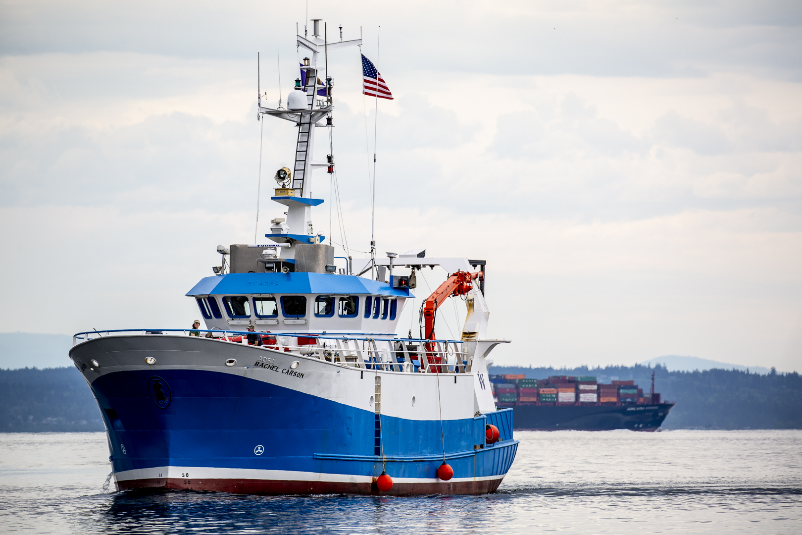 Scientists Find New Vessel For >> New Uw Vessel Rv Rachel Carson Will Explore Regional Waters Uw News