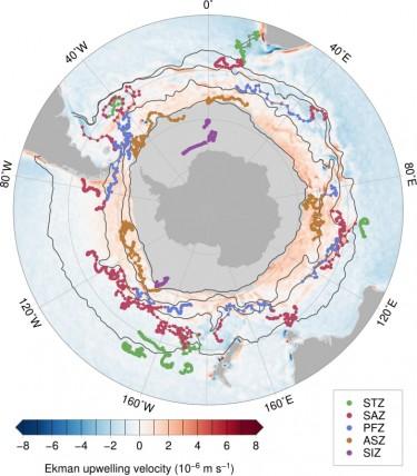 Robots' path around Antarctica