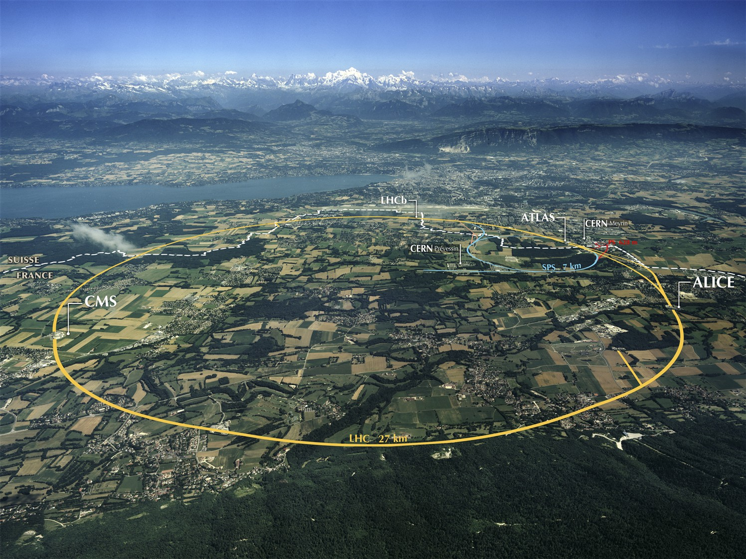 FASER detector at the Large Hadron Collider to seek clues