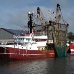 trawling boat