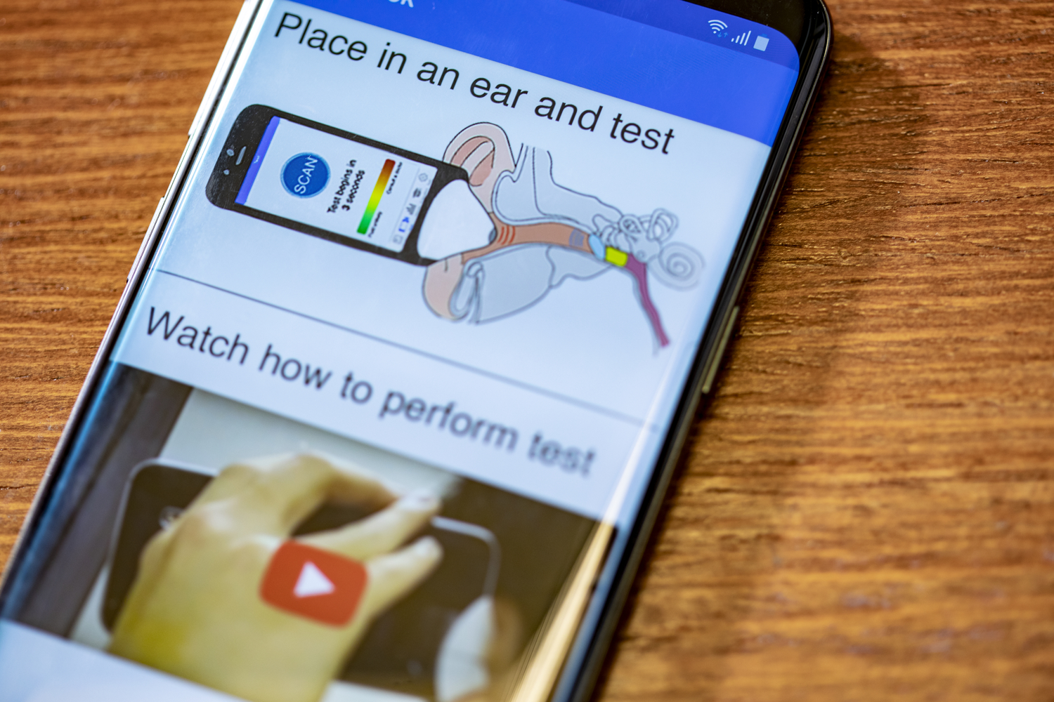 First smartphone app that can hear ear infections in children | UW News