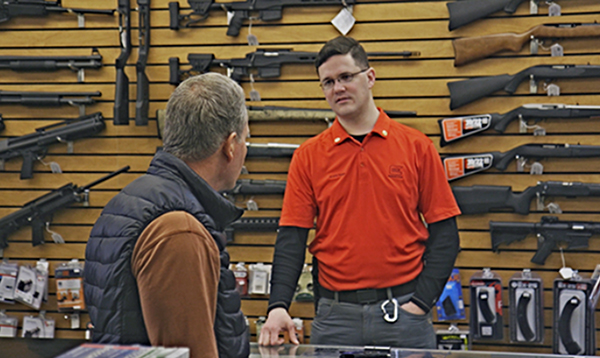 Study shows gun shops can aid in preventing suicides