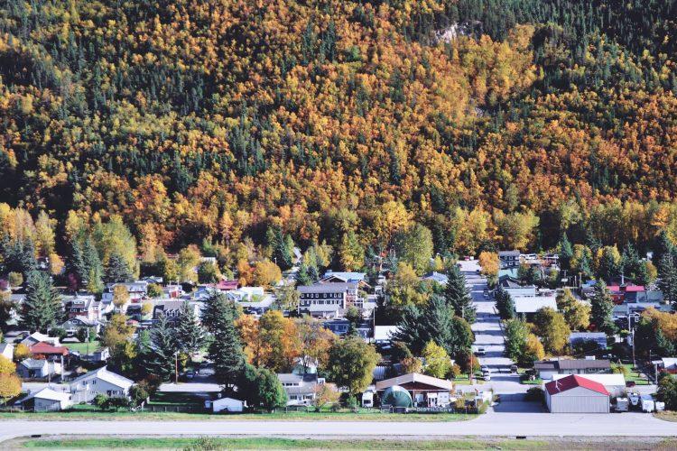 rural town in Alaska