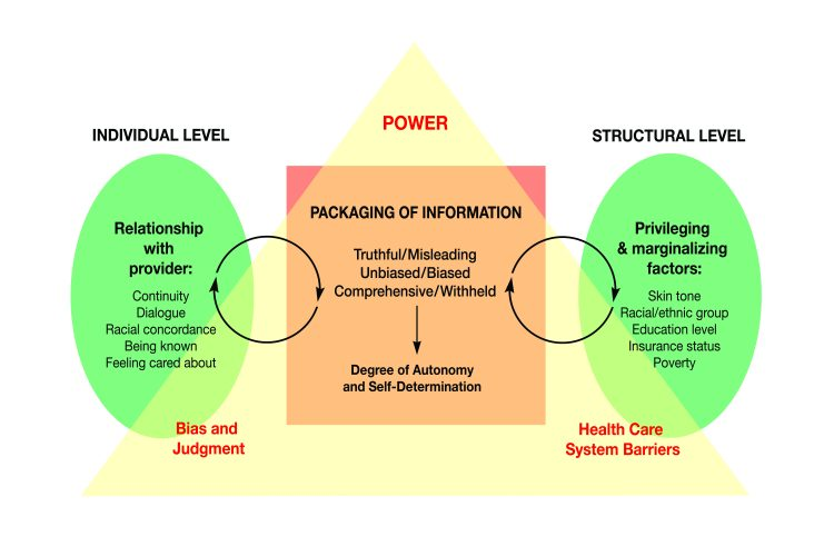 Conceptual framework for information packaging.