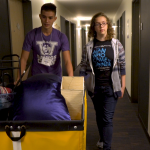 2019 move-in days for campus Huskies