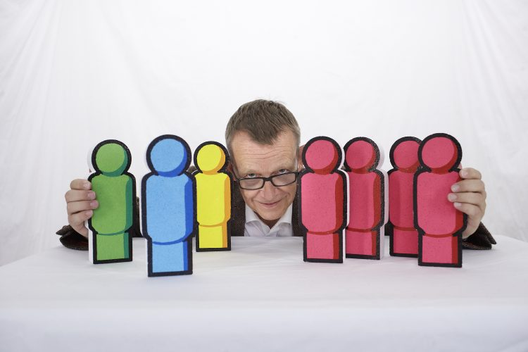 Hans Rosling with props