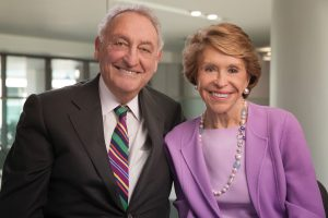 Sanford and Joan Weill, donated money for the new Weill Neurohub