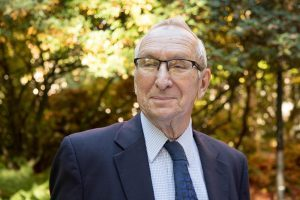 Donald Hellmann, longtime professor in the Jackson School, is being awarded the Order of the Rising Sun by the government of Japan