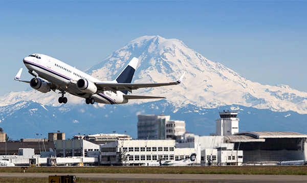 Communities around Sea-Tac Airport exposed to a unique mix of air pollution associated with aircraft