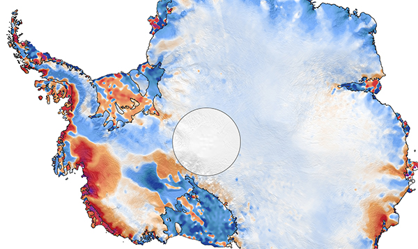 First results from NASA's ICESat-2 map 16 years of melting ice sheets