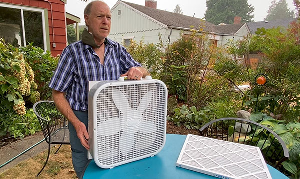 Video: How to make your own home air purifier