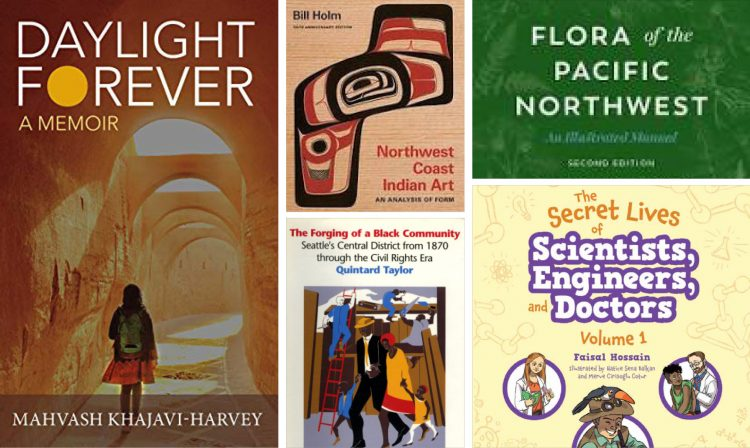 New books by University of Washington faculty members include a pair of children's works profiling STEM researchers and a personal memoir of an immigrant's journey to freedom. Also, several UW faculty and staff members are featured as UW Press looks back on a century of publishing — and a book on British colonialism is honored.