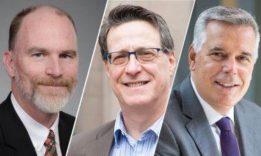 Patrick Heagerty, Dr. Joel Kaufman and Sean Sullivan.