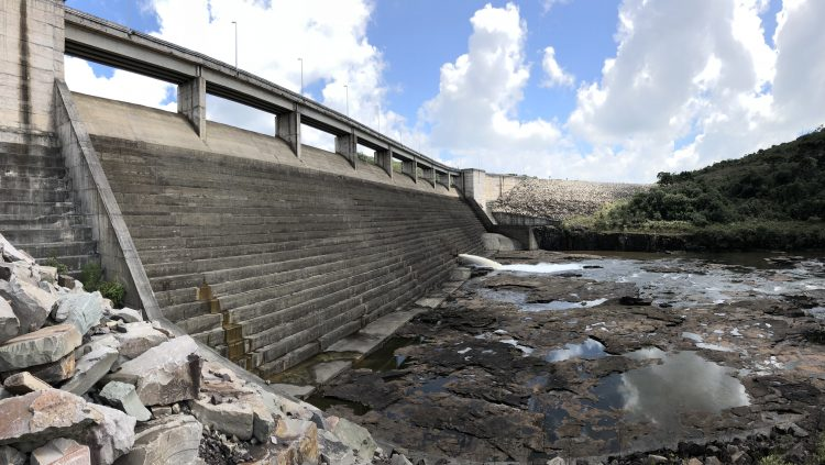 small dam in Brazil