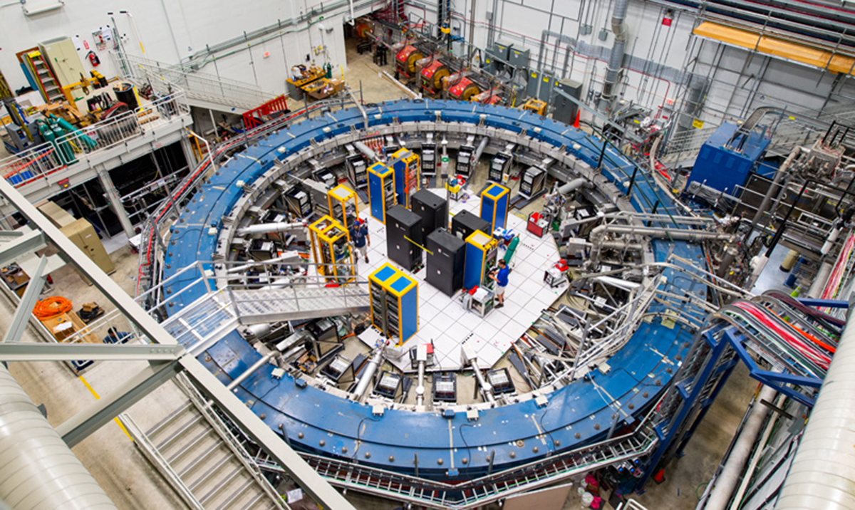 First results from Muon g-2 experiment strengthen evidence of new physics