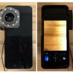 Image of a smartphone that was modified for a scientific experiment.
