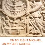 """In her new book, """"On My Right Michael, On My Left Gabriel: Angels in Ancient Jewish Culture,"""" Ahuvia explores the ancient Jewish practice """"centered on humans' relationships with invisible beings who acted as intermediaries, role models and guardians."""" The book was published this month by University of California Press."""