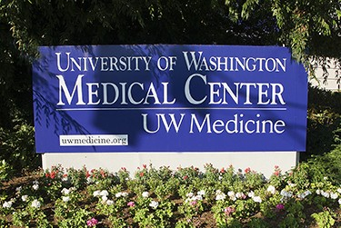 UW Medical Center sign