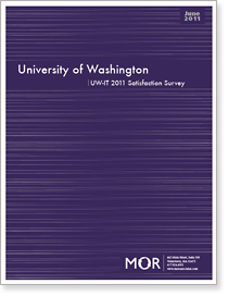Cover of customer satisfaction survey