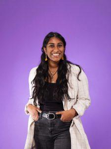 Neha posing for Husky 100 Photo