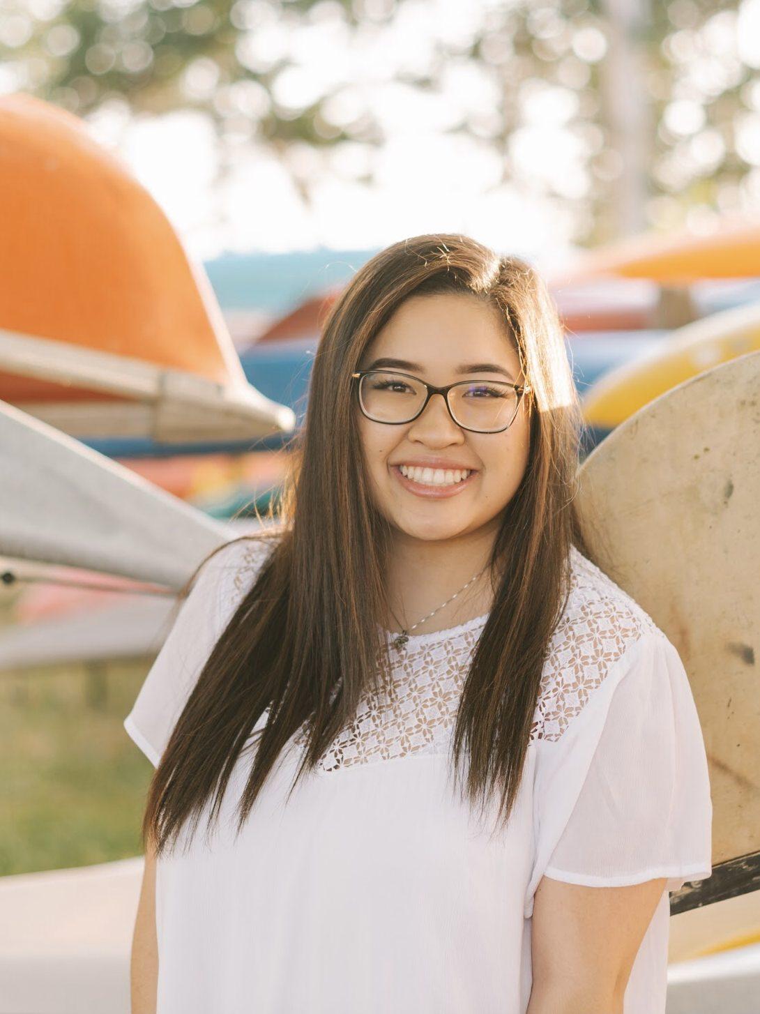 Vivian Smiling