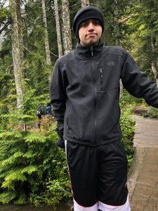 Murtaza hiking