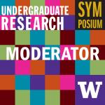 Multi-colored checkerboard pattern zoom profile for moderators